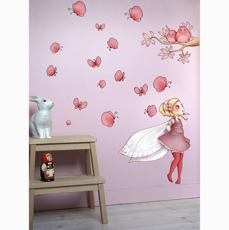 Fairy Wall Sticker By Nubie Modern Kids Boutique