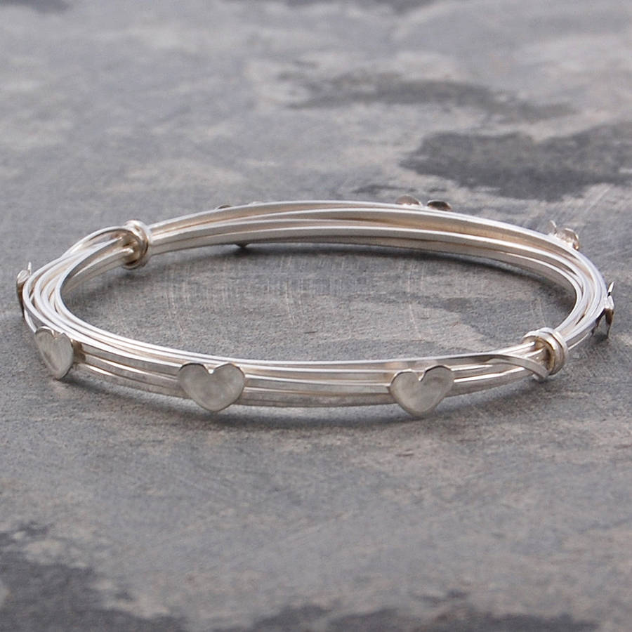 charm on bangles jewerly best pinterest jewellery bangle sterling vintage jewelry love images silver