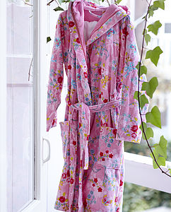 Chinese Blossom Pink Bathrobe By PiP Studio