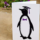 Penguin 'Teacher' Card