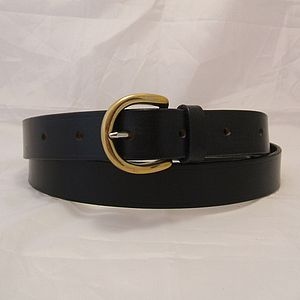 Handmade Juliet English Leather Belt - belts