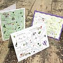 Personalised Wedding Or Party Map Card
