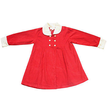 Red Cordorouy Coat