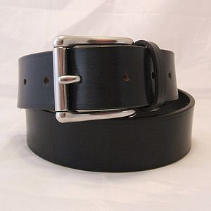 Handmade Kilo English Leather Belt - mens