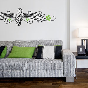 Musical Notes Wall Sticker - wall stickers