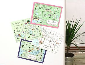 Custom Map Save The Date Or Invitation Magnet - save the date cards