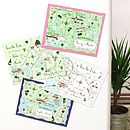 Custom Map Save The Date Or Invitation Magnet