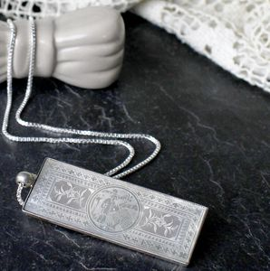 Antique Gaming Chip Necklace - women's jewellery sale