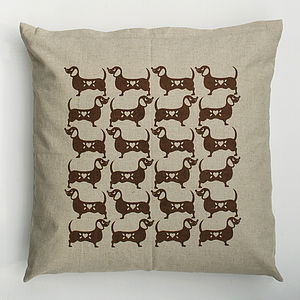Sausage Dog Cushion - pet-lover