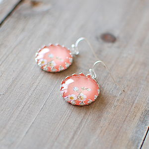 Pastel Flower Earrings - earrings