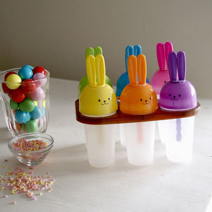 Childen's Bunny Ice Lolly Set