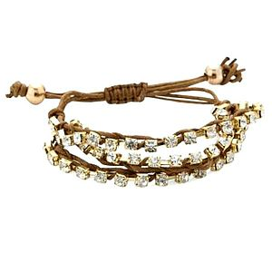Crystal Friendship Bracelet - women's jewellery