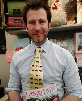 Silk Sheep Ties