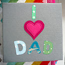 Personalised Felt Album, Larger Size
