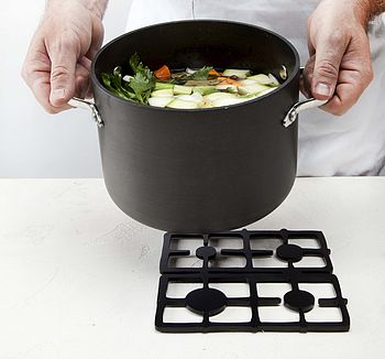 Trivet: Retro Stove Design