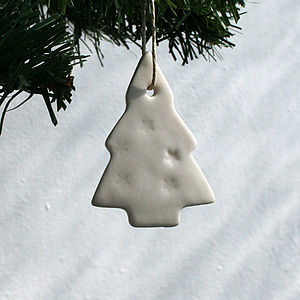 Porcelain 'Tree' Decoration
