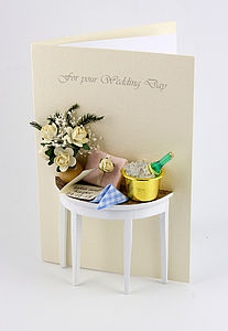 Personalised Champagne Wedding or Anniversary Card - shop by category