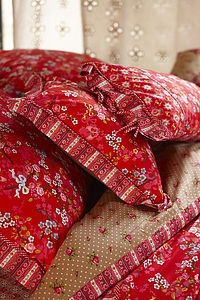 Chinese Blossom Red Neckroll By Pip Studio