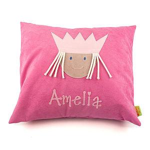 Personalised Little Princess Cushion