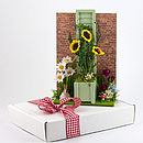 Secret Garden 3D Greetings Card