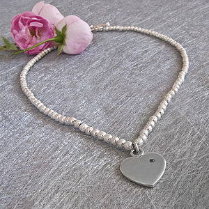 Diamond Heart Necklace - necklaces & pendants