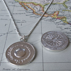 Silver Travel Necklace