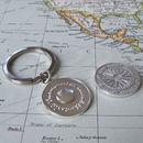 Silver Travel Keyring