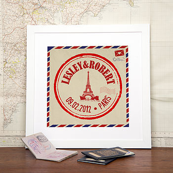 Personalised Location Illustration Print