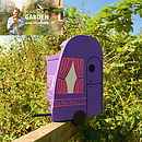 Personalised Caravan Bird Box