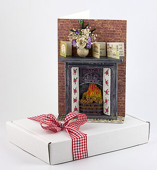 Personalised New Home 3 D Greetings Card