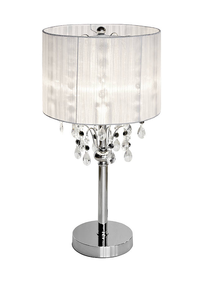 Shaded Chandelier Lamp By Made With Love Designs Ltd