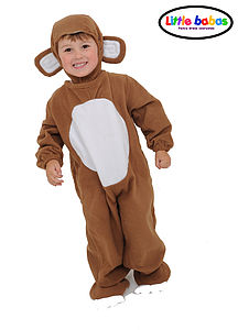 Child's Monkey Costume - home sale
