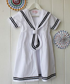 Cotton Sailor Dress