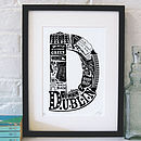 Best Of Dublin Screenprint