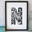 Best Of New York Screenprint