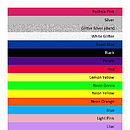 Print Colour swatch