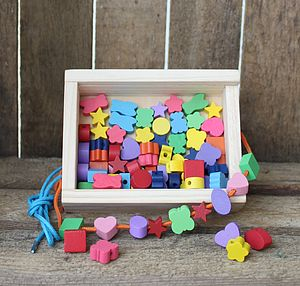 Wooden Jewellery Making Kit - toys & games