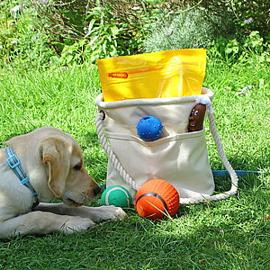 Pet Toy Storage Bag - dogs