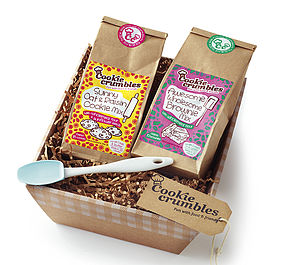 Cookie & Brownie Mix Gift Box - children's cooking