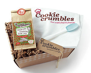 Little Granola Bar Gift Pack With Apron - make your own kits