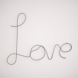 'Love' Sign - decorative accessories