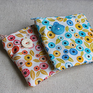 Button And Bloom Coin Purse - bags & purses