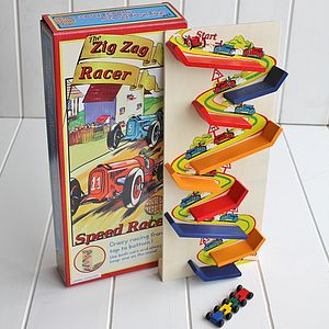 The Zig Zag Racer - traditional toys & games