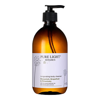 Invigorating Bergamot Rosemary Body Cleanser