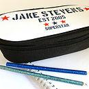 Boy's Personalised Pencil Case