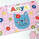 Girl's Personalised Wooden Jigsaw Puzzle