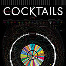 Cocktails Art Print By Pop Chart Lab