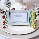 Candy Bright Christmas Cracker Card