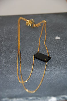 Thick And Thin Necklace