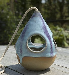 Hand Thrown Bird Feeder - gardener